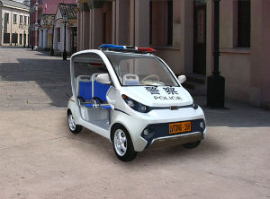 4 Seater White Electric Patrol Car (LT-S4, PAC) 48V/3.7kw pictures & photos