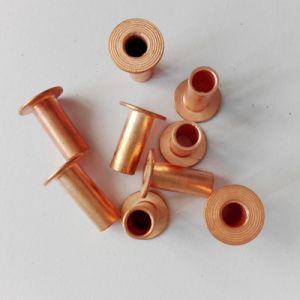 8X15mm Tubular Copper Rivet, Brake Lining Rivet
