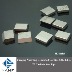 Tungsten Carbide Saw Tips for Stone/Wood/Metal Cutting (JX, JP, JY)
