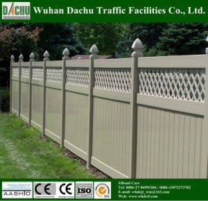 Powder Coated Engineering and Private PVC Fence pictures & photos