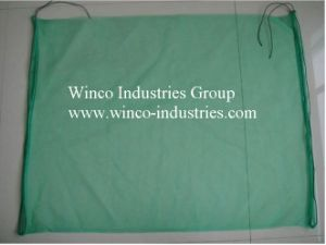 Green HDPE Collect and Protect Dates Mesh Bag to Middle East pictures & photos