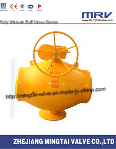 Single Weding Line All Welded Ball Valve