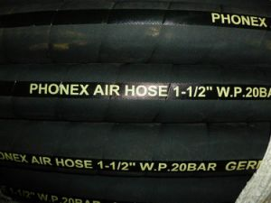 "Air/Water Rubber Hose 3/16"" to 2"""