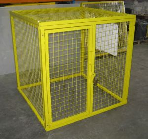 Gas Bottle Cylinder Storage Solutions Security Cage pictures & photos