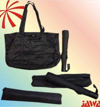 2-Fold Metal Bag Umbrella with Manual Open