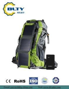 2017 Camping Solar Folding Backpack Solar Charger Bag pictures & photos