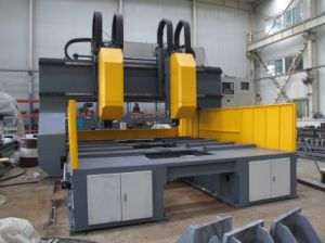 CNC Drilling Machine for Plates with 2 Drills pictures & photos