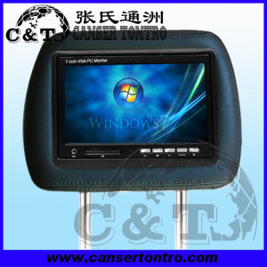 "6.95"" Headrest Car PC VGA Monitor (H701AVG)"