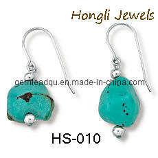 925 Silver Earrings/Turquoise Earrings