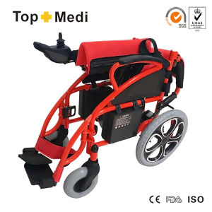 Topmedi China Supplier Foldable Electric Power Wheelchair Tew806D pictures & photos