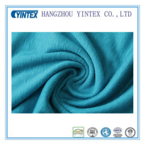100%Polyester Soft Knitted Fabric pictures & photos