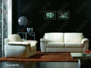 Modern Sofa / Leather Sofa (HD-88)