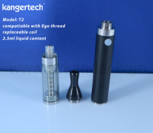 High Quality EGO E-Cigarette Kanger T2 Clear Atomizer pictures & photos