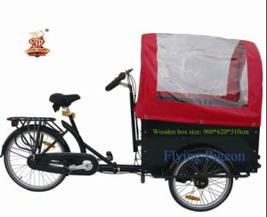 "24"" Cargo and Passenger Tricycle (FP-TRB-J03) pictures & photos"