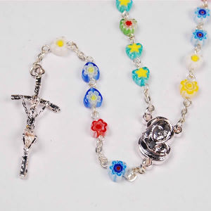Flower Beads Rosary (SGR6-009)