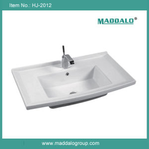 Cabinet Basin, Ceramic Cabinet Sink, Sink&Basin (HJ-2012)