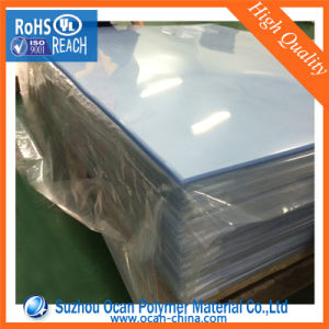 1.75mm 560mm Wide Clear Rigid Plastic PVC Sheet for Clothing Model pictures & photos