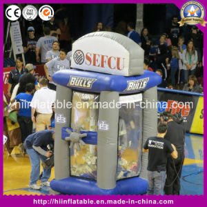 Hot Inflatable Money Booth Machine for Sport Event