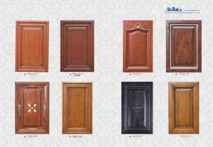 China Pole Solid Wood Kitchen Cabinet Door Panel China Furniture