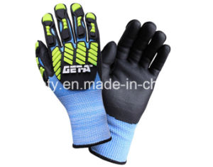 Anti-Impact TPR Work Glove (TPR9010) pictures & photos