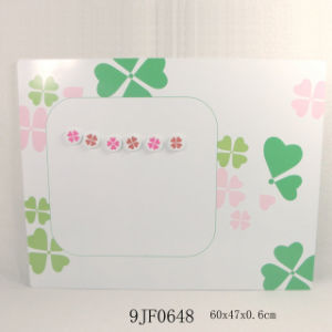Metal Magnet Bulletin Board with MDF Flower pictures & photos
