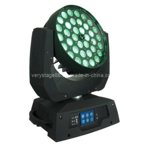 36*15W RGBWA (UV) 6in1 LED Zoom Beam Moving Head Wash DJ Light pictures & photos