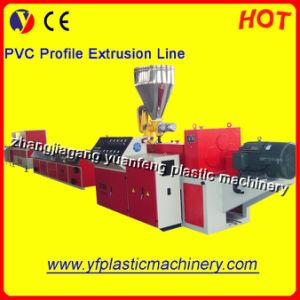 PVC Profile Extrusion Line (SJSZ65/132 Extruder)