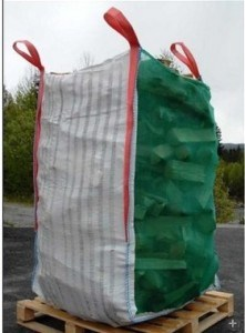 PP Firewood Big Woven Ton Bulk FIBC Bag pictures & photos