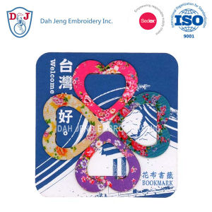 Sublimation Bookmarks with Coaster - Hakka Floral Printing pictures & photos