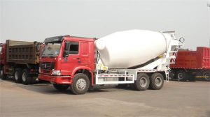 Sino HOWO 6X4 336HP Concrete Mixer Truck (ZZ1257N3641) pictures & photos