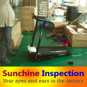 Treadmill Pre-Shipment Inspection Service in Ningbo and Jinhua pictures & photos