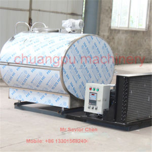 Stainless Steel Milk Cooling Tank pictures & photos