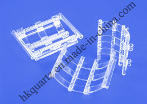 Quartz Glass Boat for Semiconductor pictures & photos