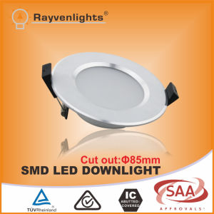 5W LED SMD Round Ceiling Light SAA