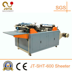 Economical Paperboard Roll to Sheet Cutting Machine pictures & photos