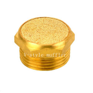 """V-Style Muffer with 1""""NPT Screw Thread"""