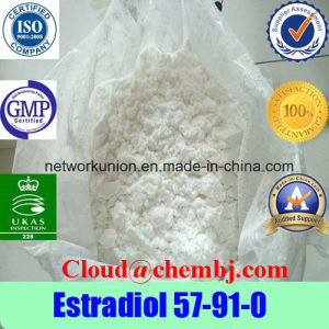Weight Loss Female Hormones 57-91-0 Estradiol Steroids Powder 17alpha-Estradiol pictures & photos