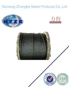 Ungalvanized Steel Wire Rope for Masting pictures & photos