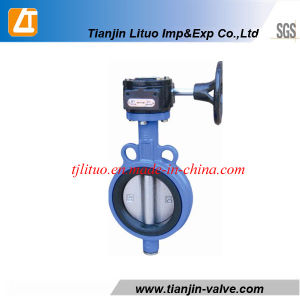 Manufacturer Butterfly Valve with Wormgear pictures & photos
