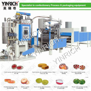 Candy Machine Hard Candy Depositing Line With PLC Control (GD1000) pictures & photos