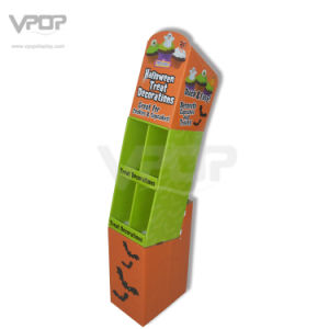 Halloween 4 Pockets Cardboard Display Stand for Candy pictures & photos