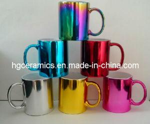 Electroplating Ceramic Mug, Metallic Mug pictures & photos