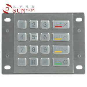 Metal Keyboard (MG-9858DDD)
