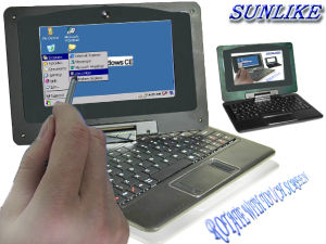 360 Rotate 7 Inch Laptop with Touch Screen (Optional) (UMPC-7002)