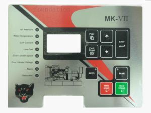 Printing Graphic Switch Overlay Panel Membrane Control Keypad pictures & photos