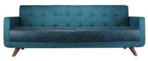 Antique Designs Upholsterd Leather Sofa Set for Livingroom (F910)