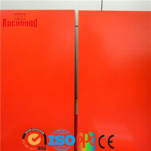 Red Aluminium Composite Panel (RCB130829) pictures & photos