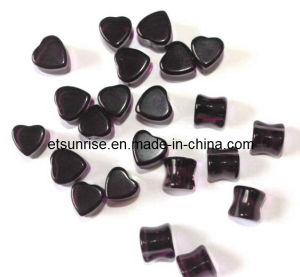 Semi Precious Crystal Stone Fashion Jewellery Earplug Ornament pictures & photos