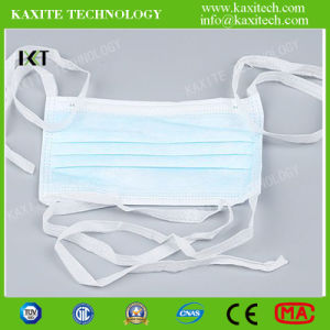 Surgical Face Mask Ready Made Supplier for Medical Protection Ear Loop Tied Cone Types Kxt-FM03 pictures & photos