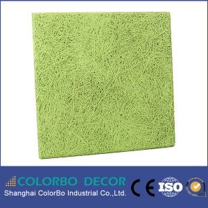 Interior Decorative Wood Wool Panel Acoustic Wall Panel pictures & photos